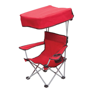 Kids beach chair with canopy
