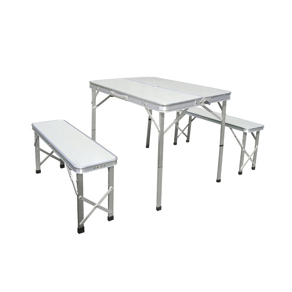 Picnic folding table bench set