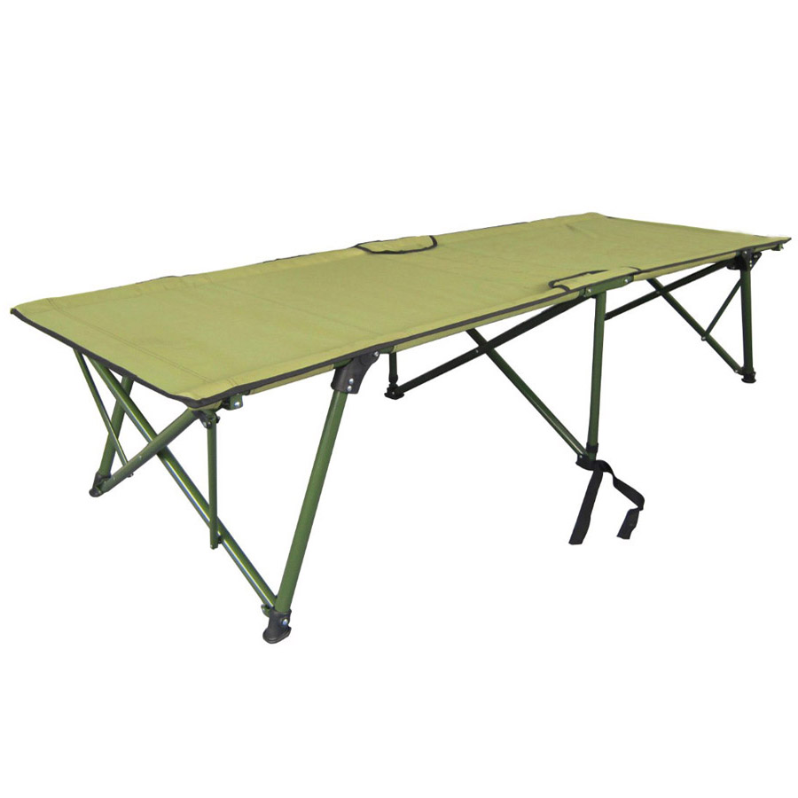 Quick set up camp folding bed
